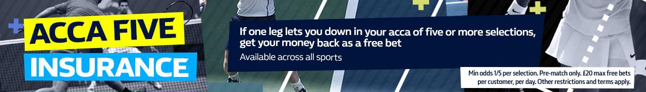 Acca Five Tennis - Concession