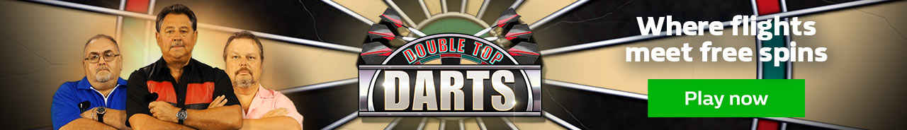 Cross Sell - Play our Double Top Darts slot