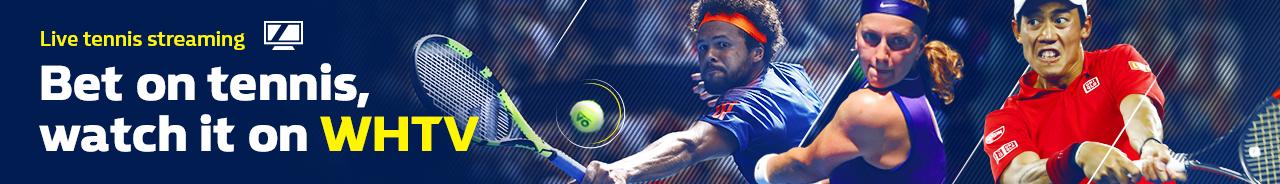 Bet on tennis & watch it in-play