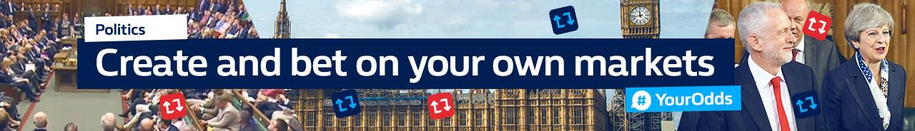 #YourOdds politics app - promo